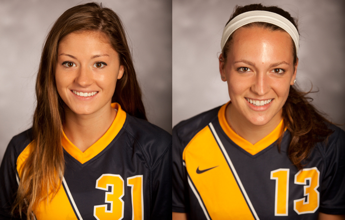 Franty & Morell Named UAA Women's Soccer Athletes of the Week