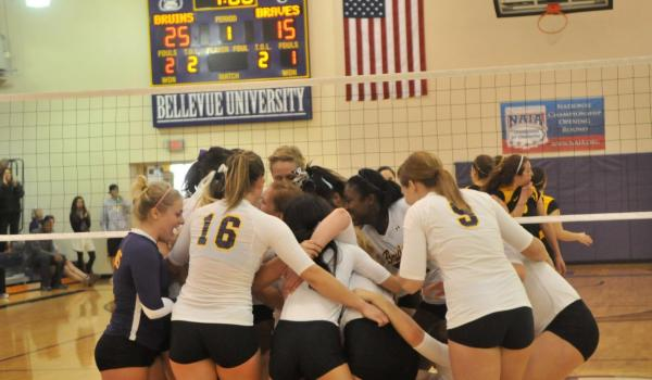 Bell leads Bruins to NAIA Opening Round win over Ottawa, 3-1