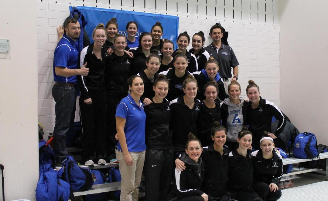 Swimming Claims Second Straight WPI Gompei Championship