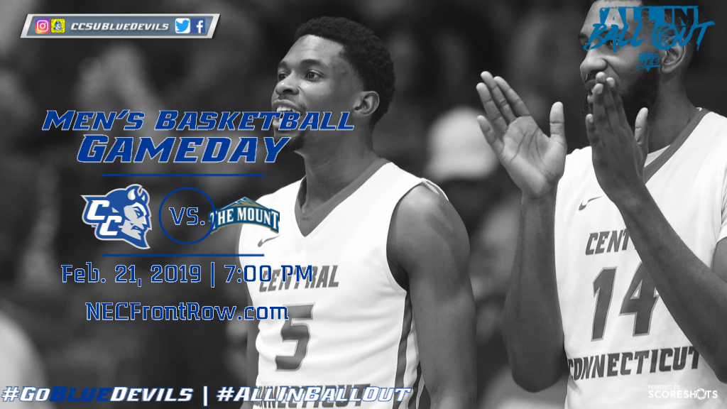 Men's Basketball Returns Home to Face Mount St. Mary's Thursday