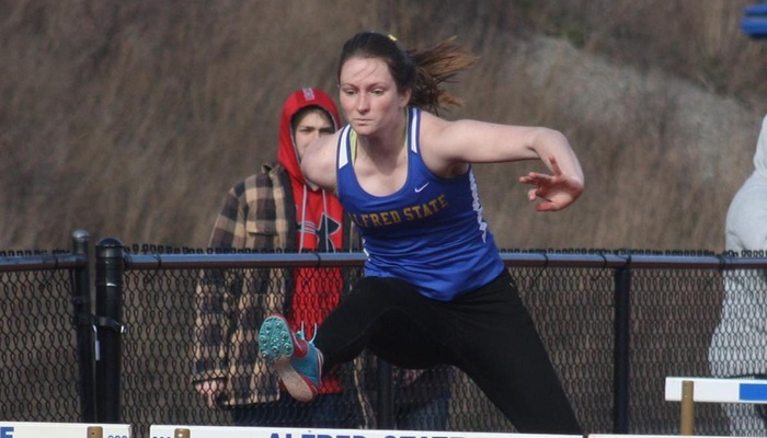 Track Competes at Geneseo