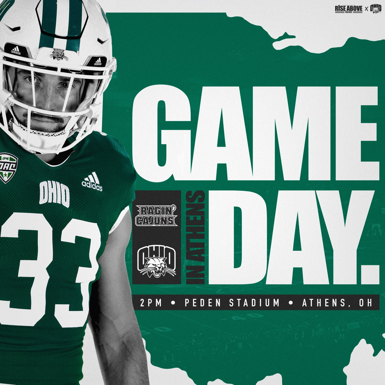 Ohio Football Returns to Peden Stadium Saturday for Parents Day Matchup Against Louisiana