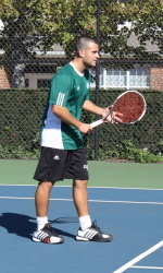 Vikings Sweep Doubles, But Fall At Western Michigan