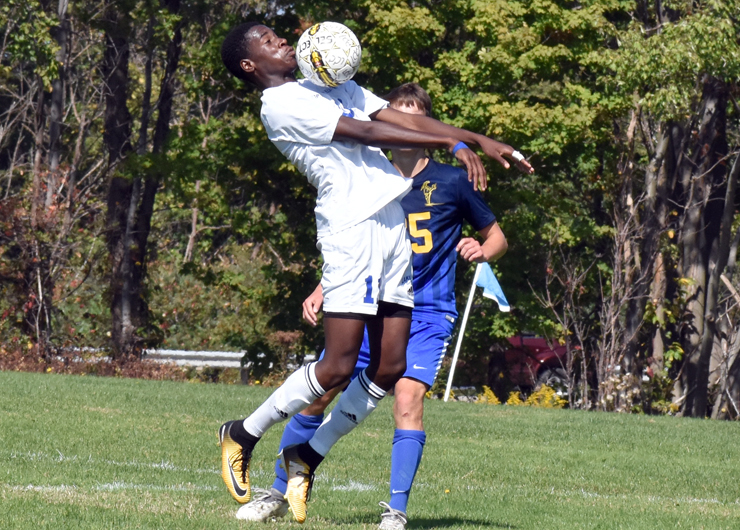 Lakeland survives a barrage of shots from Ancilla to for a scoreless tie, 0-0