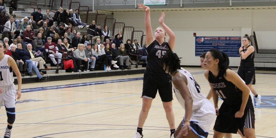 No. 7 Women's Basketball's Late Comeback Falls Short at No. 16 Jefferson in Battle of CACC Unbeatens