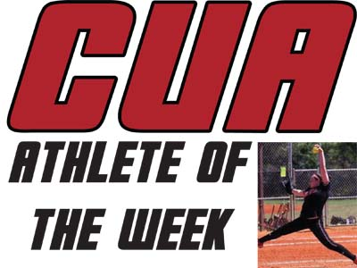 McMakin chosen as CUA Athlete of the Week