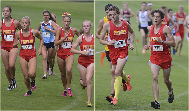 Ferris State Cross Country Finds Success On Home Course At Bulldog Invite