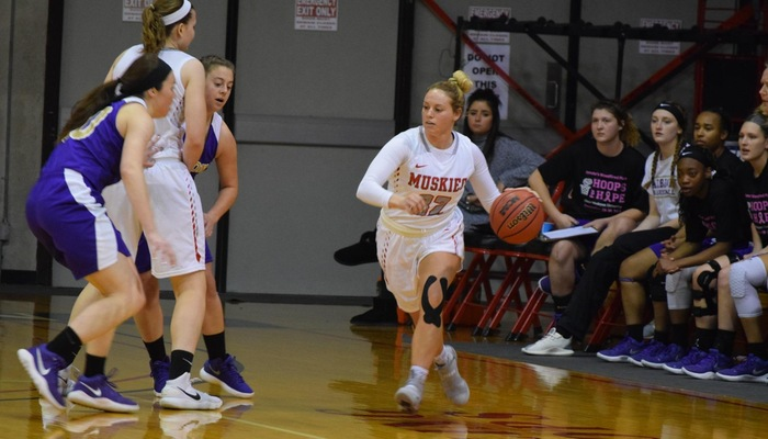 Second-Half lifts Albion past Women's Basketball