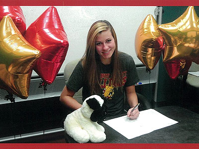 Ferris State Volleyball Signs Kate Pretty