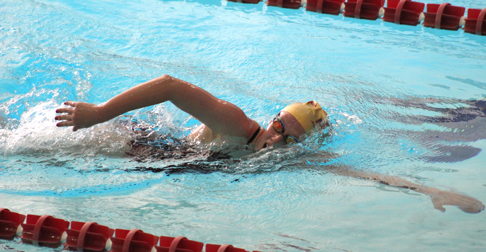 Women's Swimming Falls to Tigers but Cruises Past Ozarks