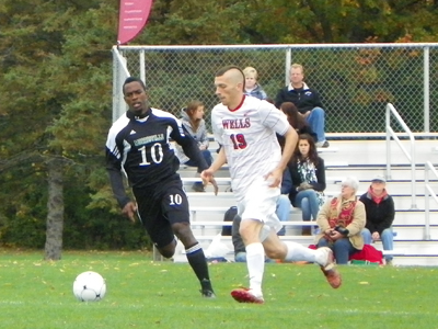 THREE SECOND HALF GOALS LEAD PIONEERS PAST EXPRESS