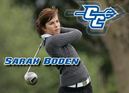 Women's Golf Signs Boden for 2012-13