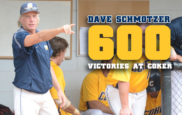 Dave Schmotzer Earns 600th Victory at Coker