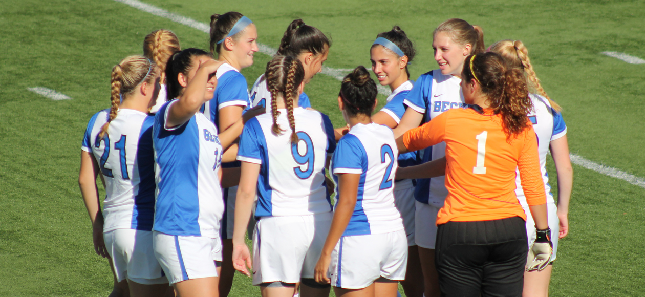Women's Soccer Outlasts Anchorwomen, 5-4