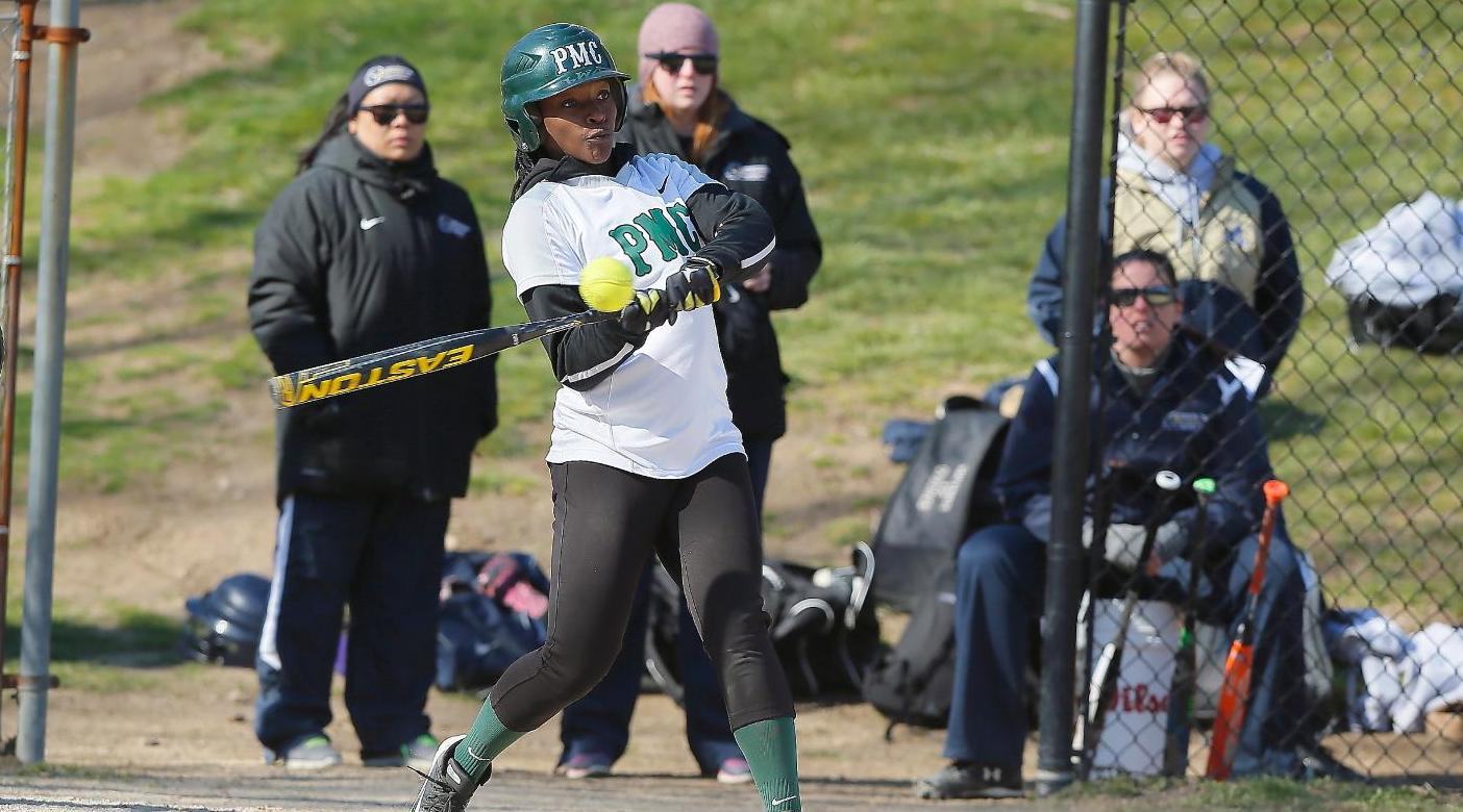 Pine Manor Softball Senior Day Results In Split Decision