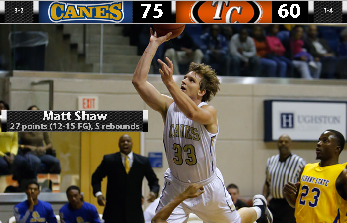 'Canes Put On A Shaw In Win Over Tusculum