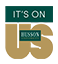 Husson University It'son Us Logo