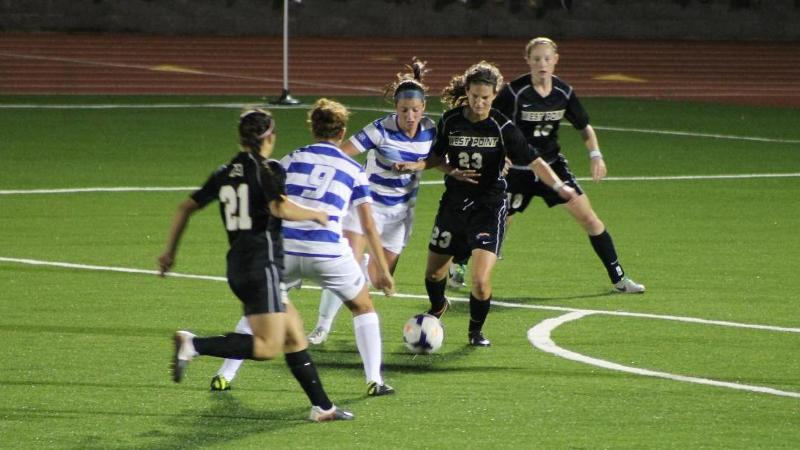 Women's Soccer Falls to Army in 85th Minute