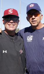 300 Plus Fans Attend USA Baseball's First Practice at Santa Clara