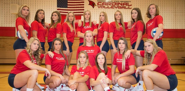 SVSU Volleyball Takes Down #23 Wildcats, 3-1