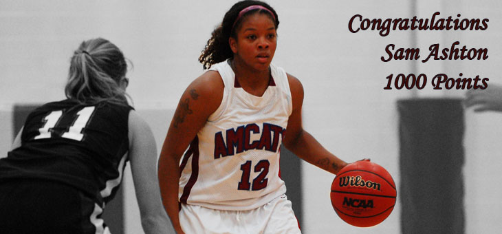 Ashton Nets 1000th Point in Lady AMCATS Win