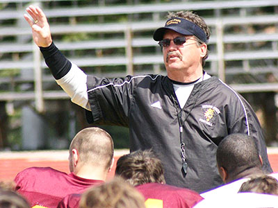 Head Coach Jeff Pierce and the Bulldogs have high hopes for the 2009 season