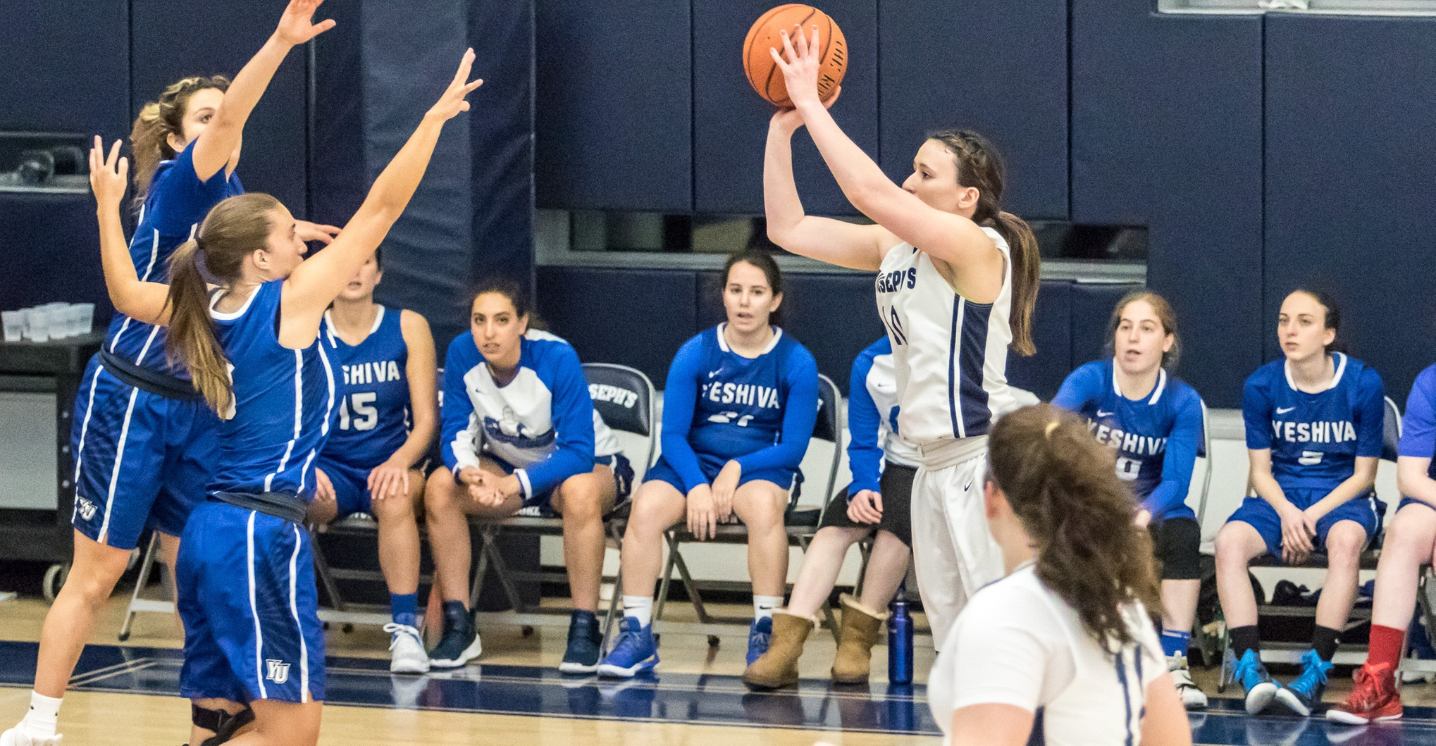 Women's Basketball Nearly Upsets First-Place Mount Saint Mary; Bears Still Clinch Playoff Berth