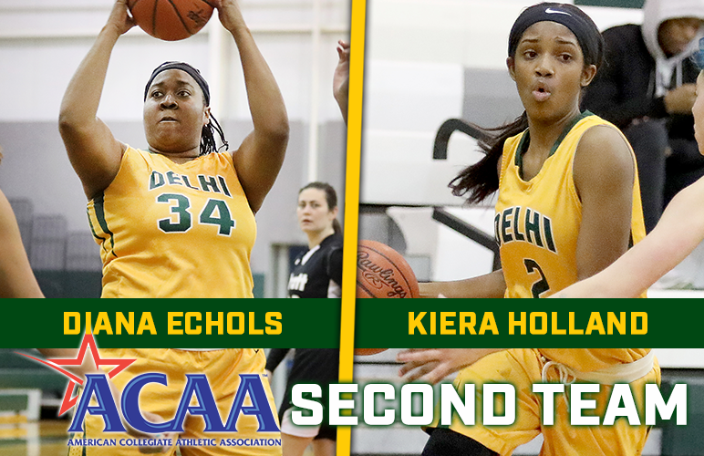 Echols, Holland Parlay Big Seasons to All-ACAA Second Team