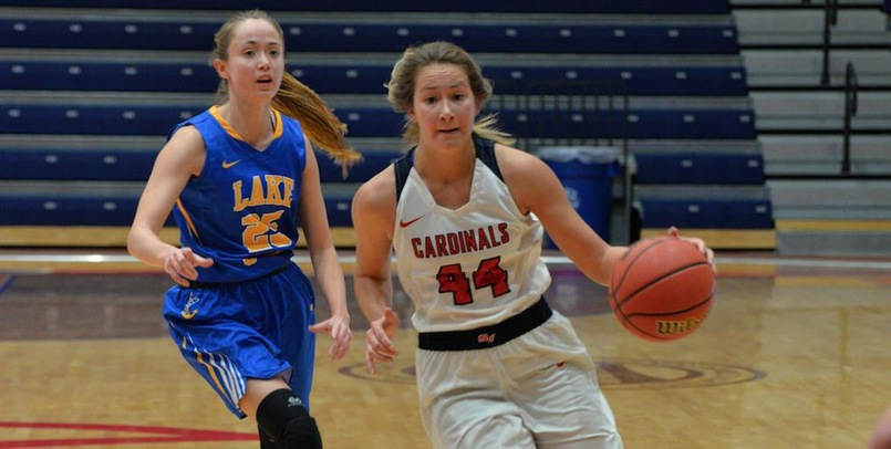 Cardinals Post First Victory of the Season Over the Lakers, 64-52