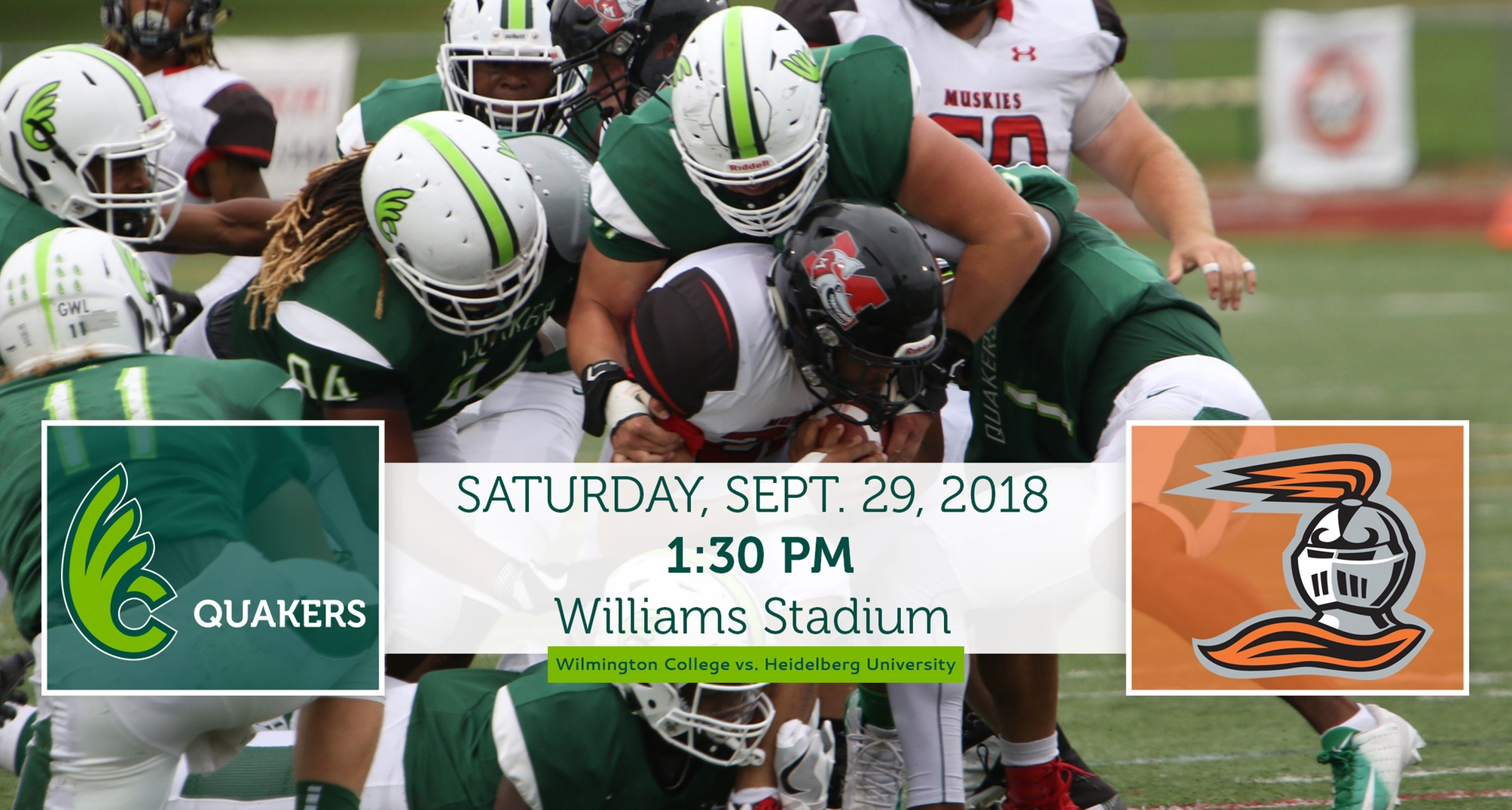 Football Hosts Heidelberg on Saturday