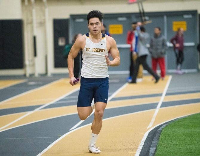 Golden Eagles Compete at ECAC Championships