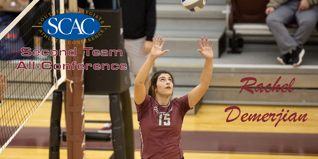 Demerjian Named Second Team All-Conference for Ladies Volleyball