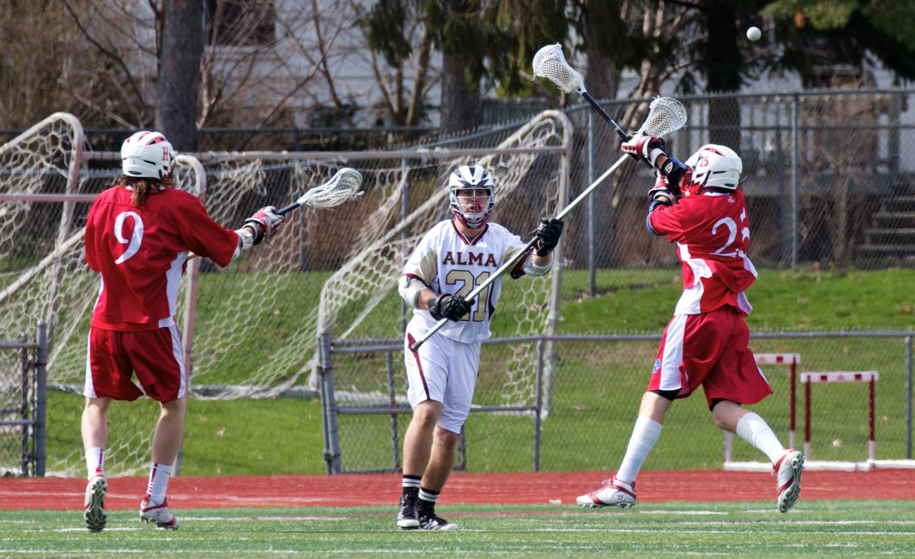 Alma Men's Lacrosse concludes season with a 7-2 home loss to Hanover