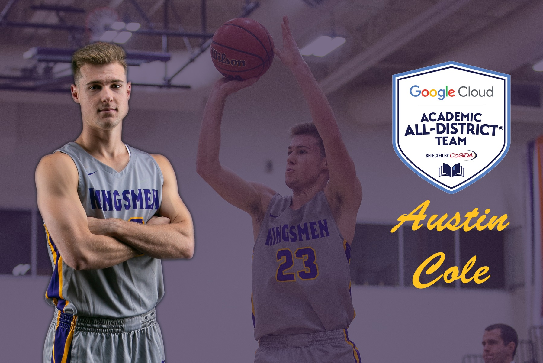 Cole Named Academic All-District