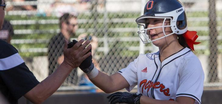 Softball Rallies in Seventh to Win Opener