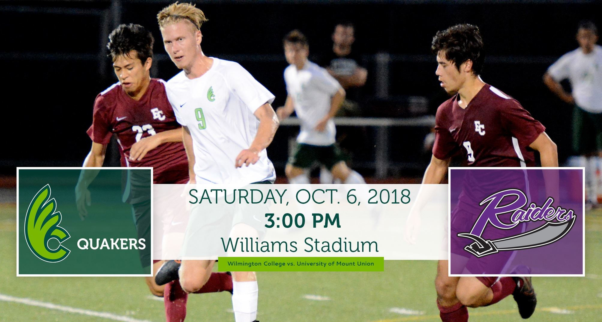 Men's Soccer Hosts Mount Union on Saturday