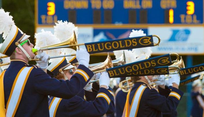 Blugold Marching Band Set to Perform at Football Games