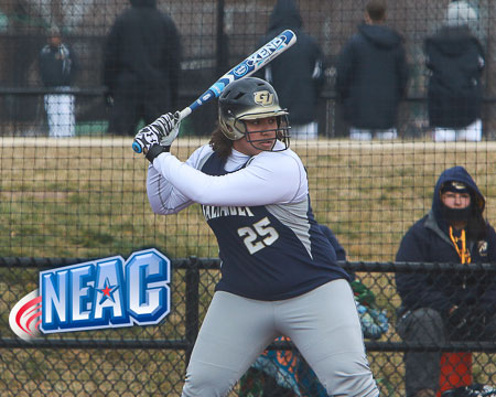 Alicia Johnson selected as NEAC Softball Student-Athlete of the Week