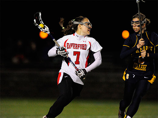 Women's lax seniors honored, Haverford falls to #7 Franklin & Marshall