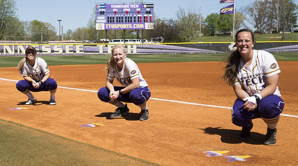 Seniors honored during Sunday finale vs. Morehead State