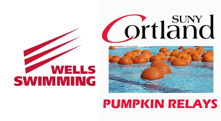Men's Swimming Team Finishes Sixth at Pumpkin Relays