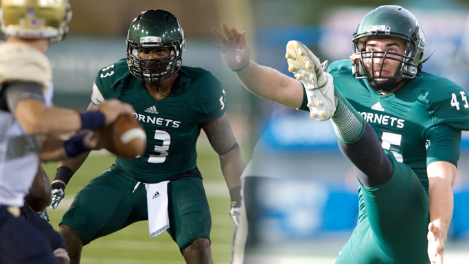 TODD DAVIS AND JUSTIN WELDON HONORED AS FCS ALL-AMERICANS