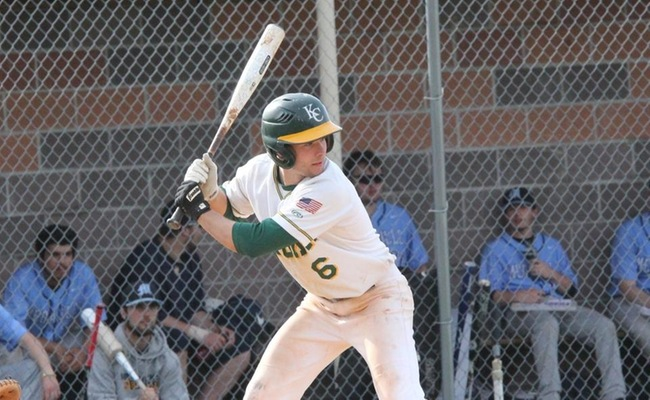 Alec Bowie (6) had a pair of hits in both games for Keuka College