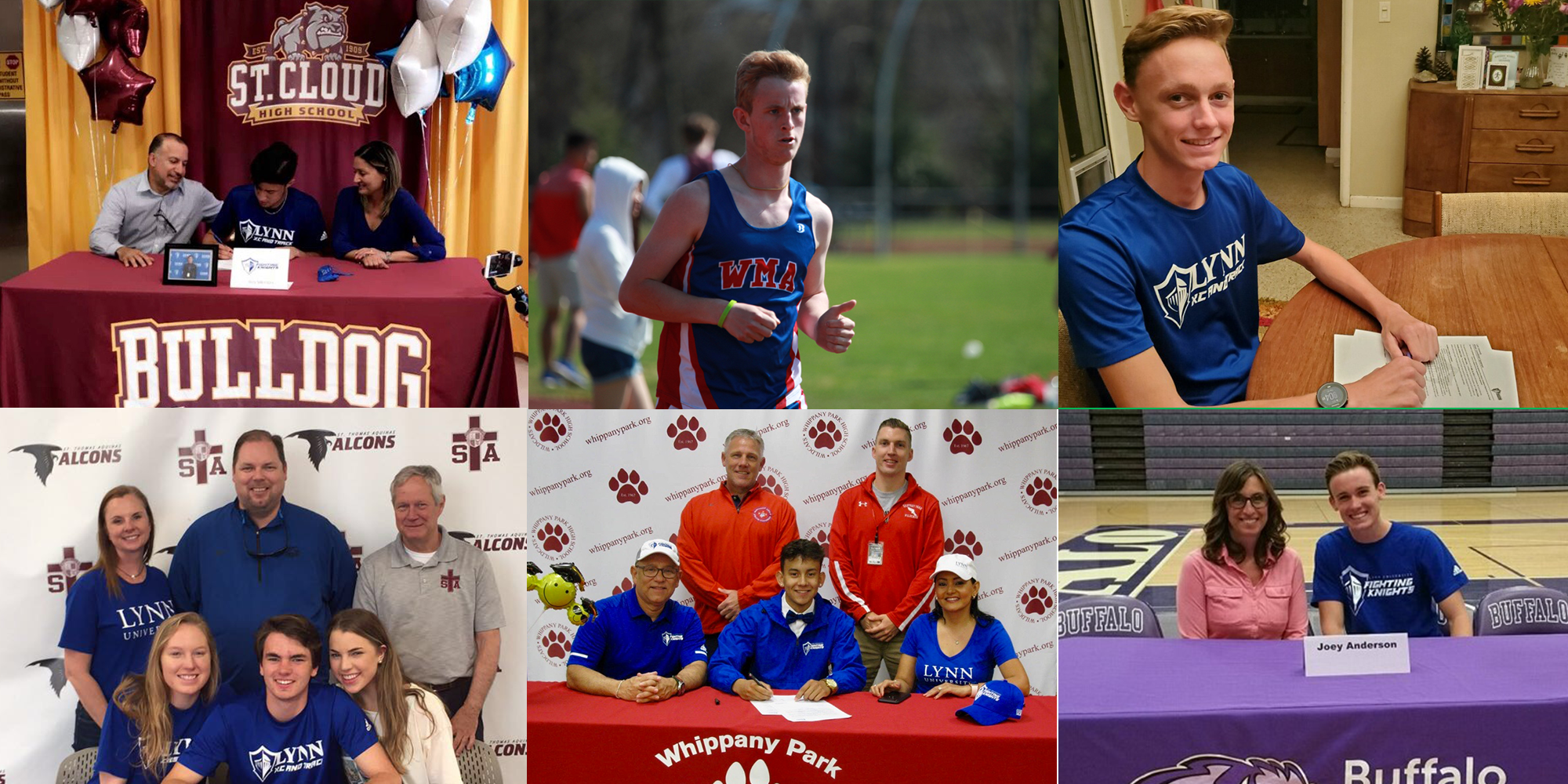 Men's Cross Country/Track Rolls Out 2019-20 Recruiting Class