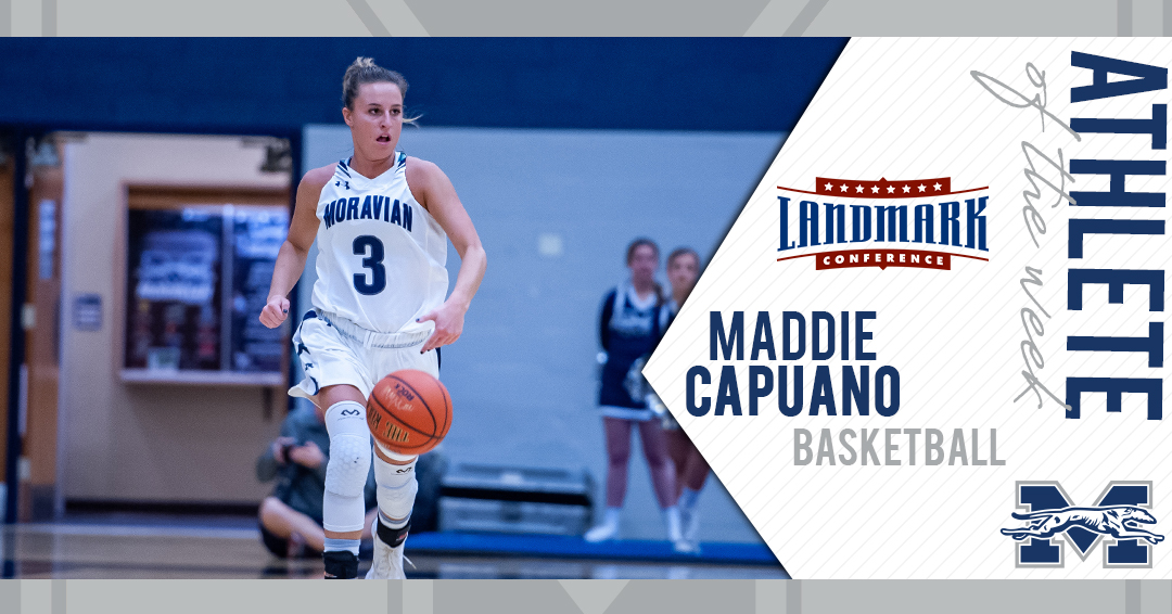 Maddie Capuano named Landmark Conference Women's Basketball Athlete of the Week