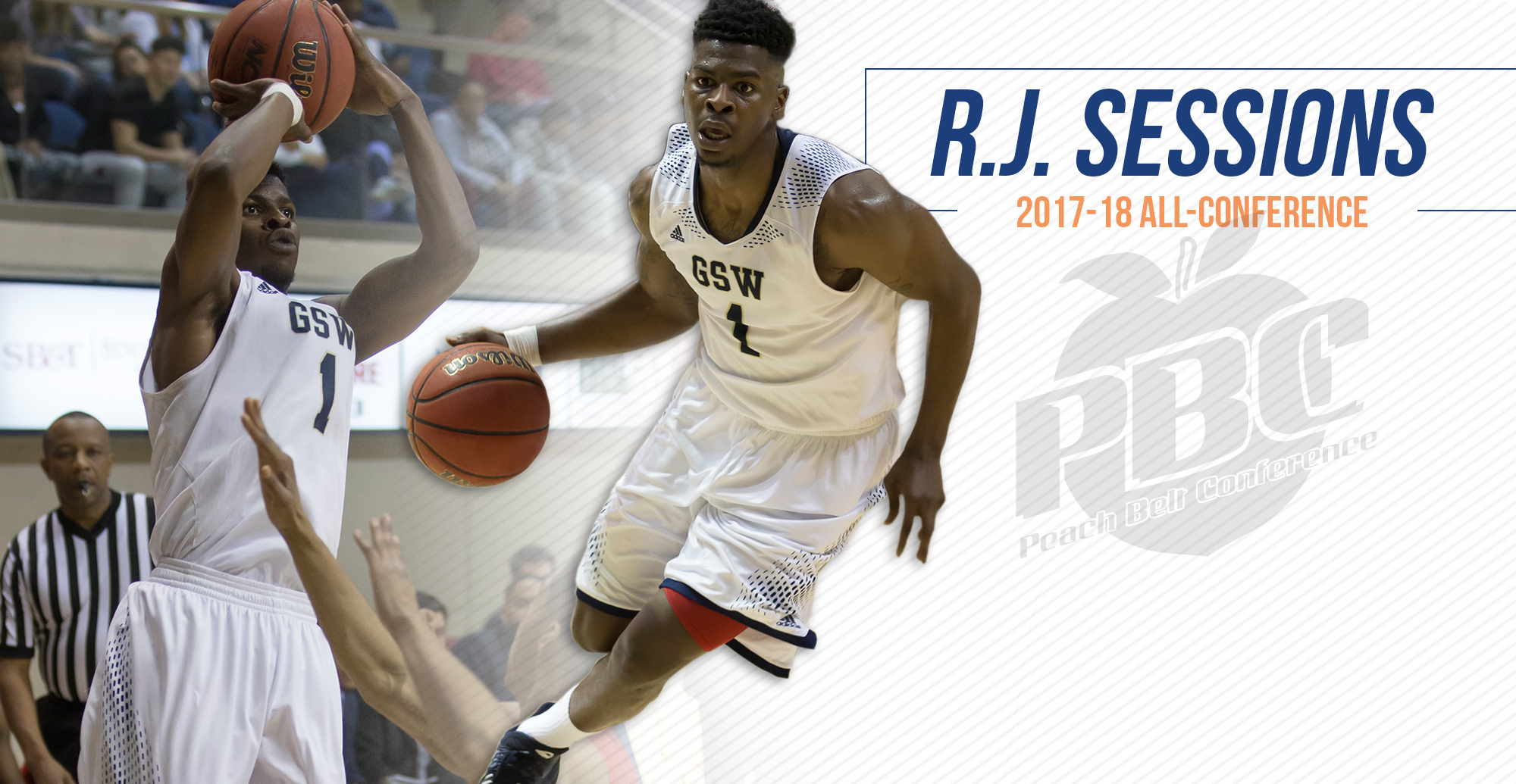 Sessions Named Second Team All-Conference