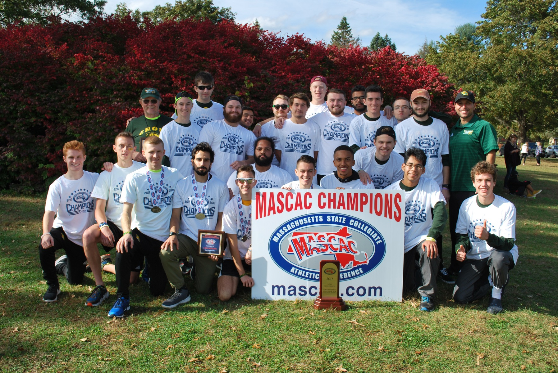Falcons Claim MASCAC Men's Cross Country Championship
