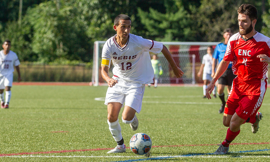 Men's Soccer Posts 2-2 Tie With Falcons