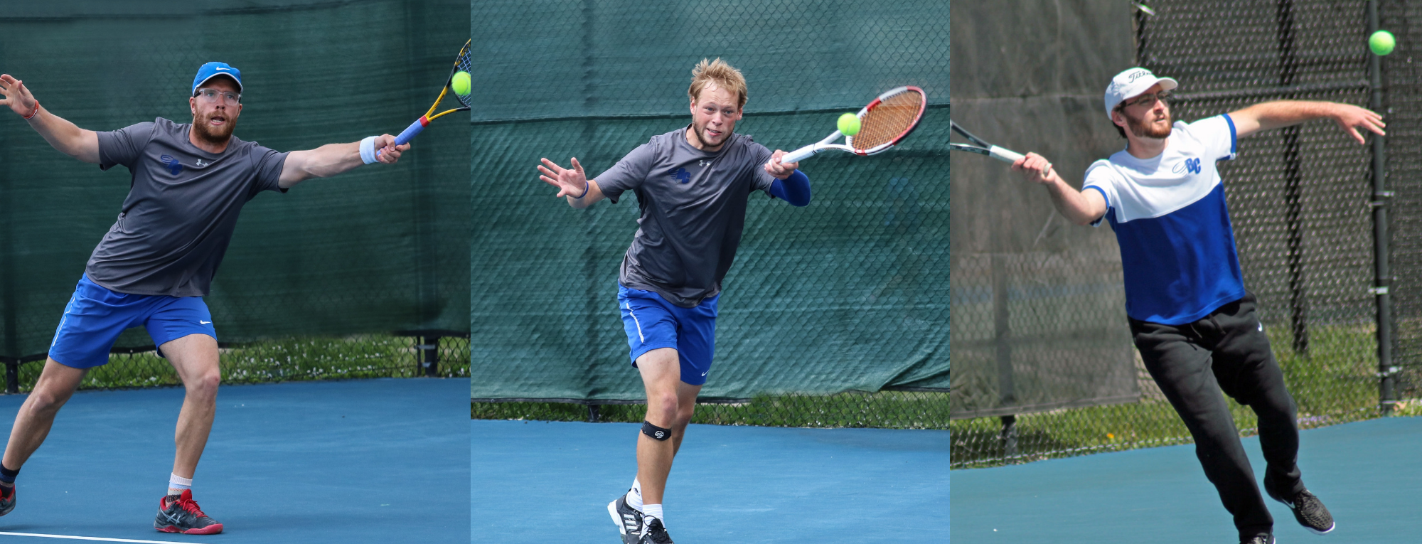 Mittring and Hengst Win Singles and Doubles Matches on Senior Day