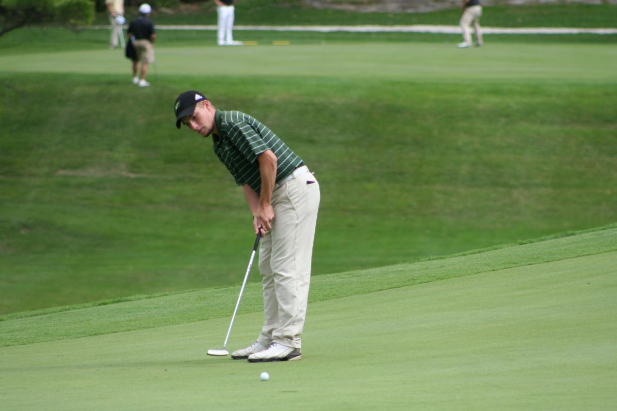 Men's Golf tied for 11th After Day One of Duke Nelson Invitational